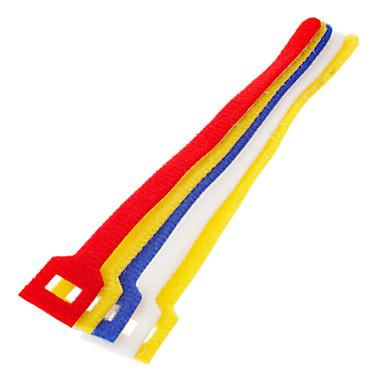 Hook & Loop Çakma Kablo Bağları Renkli 5 adet