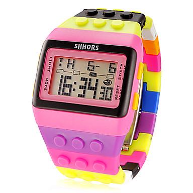 Pentru femei Ceas digital Alarmă / Calendar / Cronograf Plastic Bandă Charm / Modă