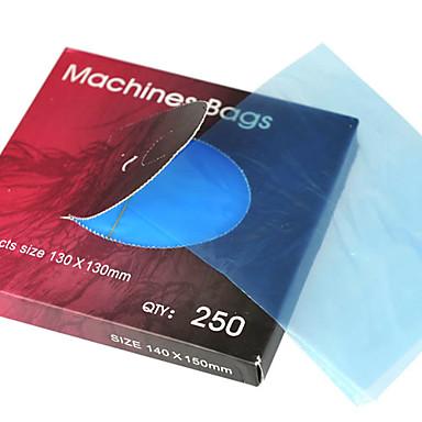 10 teile / los einweg tattoo maschine taschen blau farbe tattoo maschine abdeckung tasche