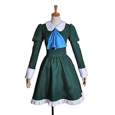 Inspiriert von Cosplay Mary Video Spiel Cosplay Kostüme Cosplay Kostüme / Kleider Patchwork Langarm Kleid Halloween Kostüme