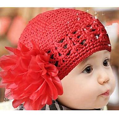 Mädchen Hüte & Kappen Winter Baumwollmischung Rot Rosa