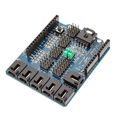 (Arduino için) uno Duemilanove sensör kalkan v4 dijital analog modülü