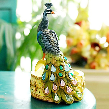 Country Style Peacock Shape Ashtray