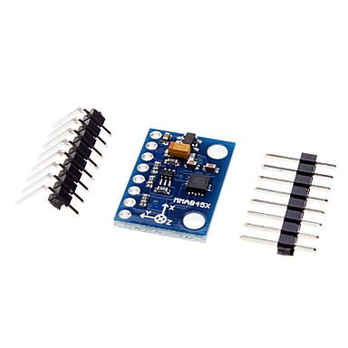 için mma8452 3 eksenli ivmeölçer, üç eksenli dijital modülü (arduino için)