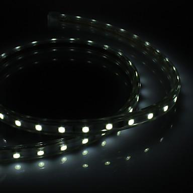 1m Fâșii de Iluminat 60 LED-uri 5050 SMD Alb Rezistent la apă