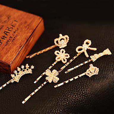 Dulce aur Agrafele aliaj pentru femei (aur) (1 buc)