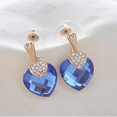 pieptene de aur din aliaj elegant& cristal pentru femei cercei stil elegant