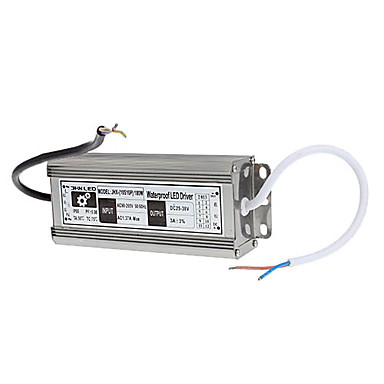 100W 3000mA rezistent la apa LED Driver Sursa de alimentare (AC 176-265V / DC 27-37V)