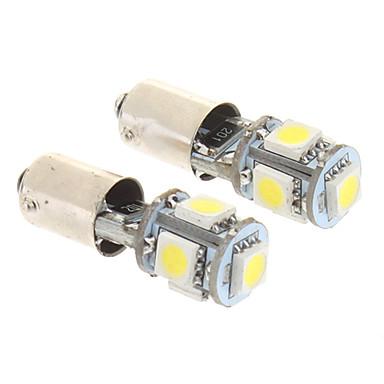 BA9S Mașină Alb Rece 2W SMD 5050 6000Lumini de instrumente Lumini pentru numerele de înmatriculare Lumini de semnalizare Lumini de