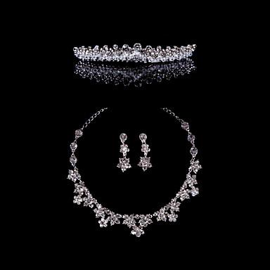 Sieraden set Dames Jublieum / Bruiloft / Verloving / Verjaardag / Geschenk / Speciale gelegenheden Sieraden Sets Licht Metaalkristal /