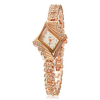 pentru Doamne Ceas La Modă Ceas Brățară Quartz imitație de diamant Aliaj Bandă Sclipici Elegant Auriu Auriu Argintiu