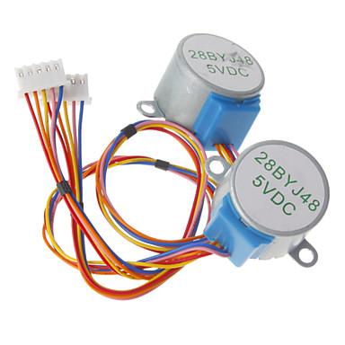 DC 5V 28ybj-48 Schrittmotor (für Arduino) ((funktioniert mit offiziellen (für Arduino) Tafeln / 2 Stück)