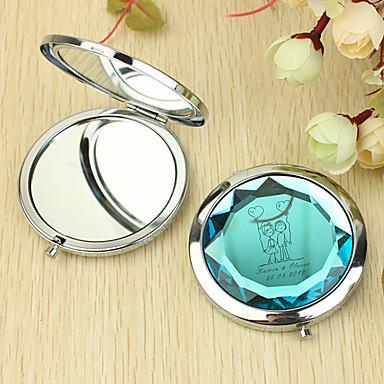 Personalizate cadouri Inima și Lover model Chrome Compact Mirror