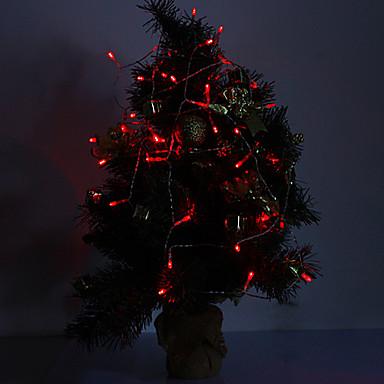 4M 3W 40-LED 210LM Red Light LED Strip Light for Decorations