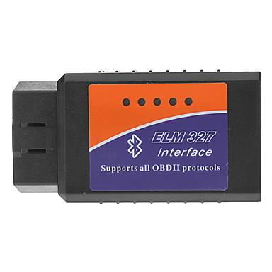 OBDII Bluetooth Car Dijagnostički kabel - crna + Blue + Orange (DC 12V)