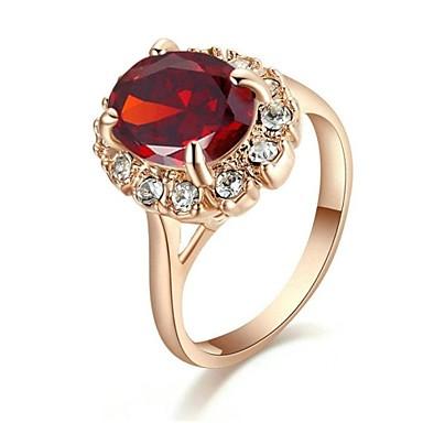 Damen Krystall Statement-Ring - Modisch Ring Für Hochzeit / Party / Normal