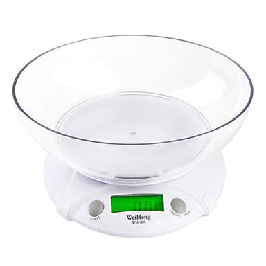 7KG * 1G Digital elektronische Küchenwaagen Paket Essen Gewicht mit Schüssel