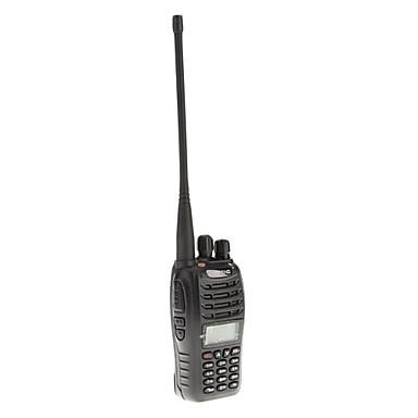 Baofeng uv-b5 uhf / vhf 400-480 / 136-174mhz dual band fm tovejs radio walkie talkie transceiver samtaleanlæg