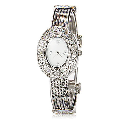 Dámské Módní hodinky Náramkové hodinky Křemenný Kapela Třpyt Stříbro Značka