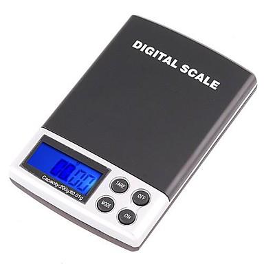 200g x 0.01g Mini Digital Bijuterii Pocket Scale GRAM LCD