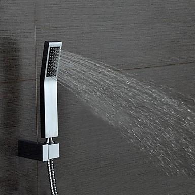 Contemporary Hand Shower Chrome Feature - Shower, Shower Head