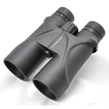 Visionking 12 X 50 mm Fernglas Schwarz Wasserfest / Leistungsstark / Militär / IPX-7 / Dach / Volle Mehrfachbeschichtung / Jagd / Vogelbeobachtung