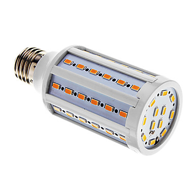 E26/E27 LED Mais-Birnen T 60 Leds SMD 5730 Warmes Weiß Kühles Weiß 1000lm 3000-3500K AC 220-240V