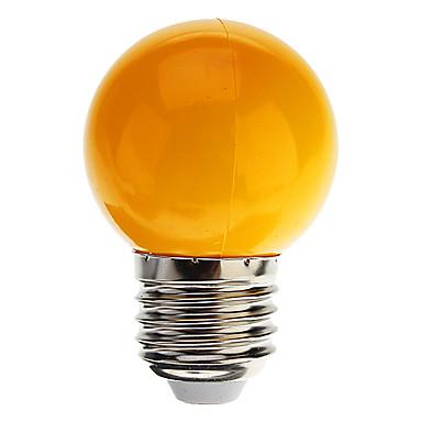 billige Elpærer-1pc 0.5 W LED-globepærer 30 lm E26 / E27 G45 7 LED perler Dyp Led Dekorativ Kjølig hvit Rød Blå 100-240 V / RoHs