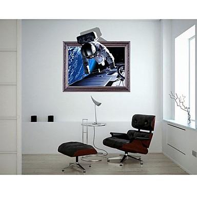 3DThe Astronauti na stěnu Samolepky Lepicí obrazy na stěnu