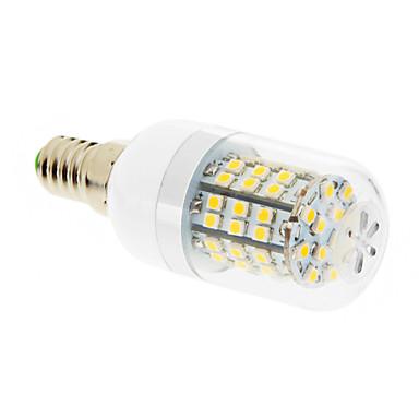 E14 G9 GU10 E26/E27 Ampoules Maïs LED T 60 SMD 2835 550-680 lm Blanc Chaud Blanc Froid AC 100-240 V