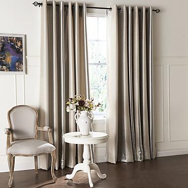 záclony závěsy Obývací pokoj Současné Polyester Reliéfní