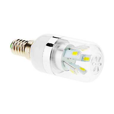E14 LED Corn Lights T 10 leds SMD 5630 Cold White 600-650lm 5500-6500K AC 85-265V