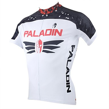 ILPALADINO Men's Short Sleeves Cycling Jersey Bike Jersey, Quick Dry, Ultraviolet Resistant, Breathable
