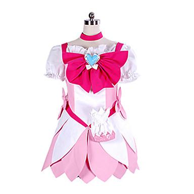 Inspirovaný PrettyCure Cure Blossom Anime Cosplay kostýmy Cosplay šaty Patchwork Šaty Pro Dámské