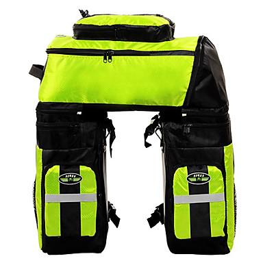 FJQXZ Fahrradtasche 70L Fahrrad Kofferraum Tasche/Fahrradtasche Wasserdicht Rasche Trocknung 3 in 1 Tasche für das Rad 1680D Polyester