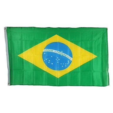 2014 Brazil World Cup Football Cheer Velký vlajka