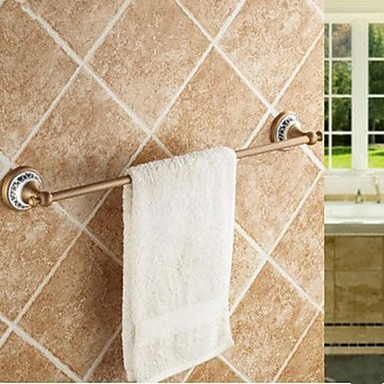 Tyč na ručníky Vysoká kvalita Starožitný Mosaz Keramika 1 ks - Hotelová koupel 1-ručník