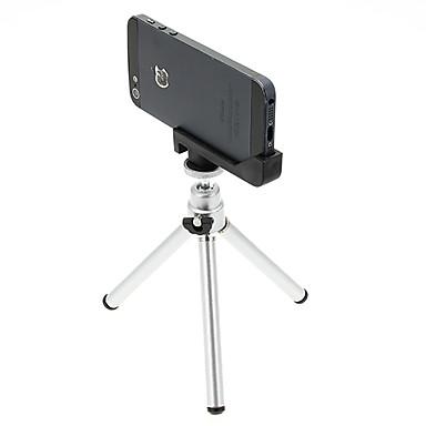 Plast 121mm Sektioner Mobiltelefon Digital Kamera Stativ