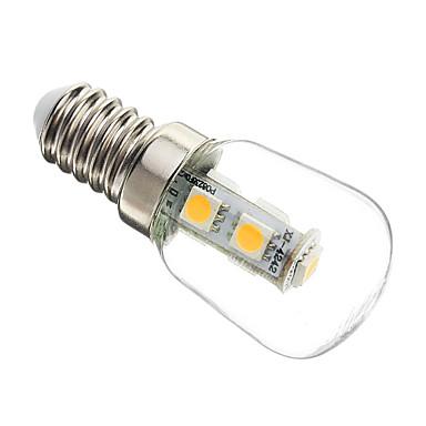 1pc 1 W 60-70 lm E14 LED Kugelbirnen / LED Mais-Birnen T25 7 LED-Perlen SMD 5050 Dekorativ Warmes Weiß 220-240 V / RoHs