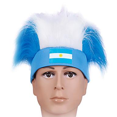 Accesoriu de Păr Festival/Sărbătoare Costume de Halloween Alb / Albastru Cordeluțe Halloween / CarnavalTerilenă / Poliester / Piele