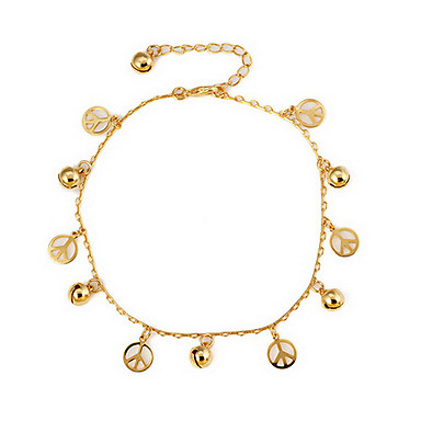 Women's Anklet / Bracelet Alloy Unique Design Hollow Fashion Anklet Body Chain Others Jewelry For Daily Casual