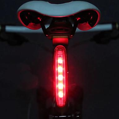 Luce posteriore per bici / luci di sicurezza / Luci di coda LED Luci bici Ciclismo Luce LED AAA Batteria Ciclismo - MOON / IPX-4