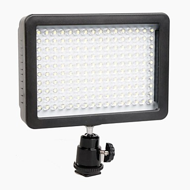 d-slr fotoaparát vedl světlo výkon rozhraní s 160 kusy led 1280lm