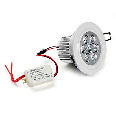 5500lm Φωτιστικό Οροφής Χωνευτό Φως Χωνευτή εγκατάσταση 7 LED χάντρες LED Υψηλης Ισχύος Φυσικό Λευκό 85-265V