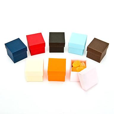 Creativo Cubi Carta Porta-bomboniera con A fantasia Bomboniere scatole