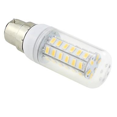 6W 3000-3500 lm B22 LED-kolbepærer T 48 leds SMD 5730 Varm hvid AC 220-240V
