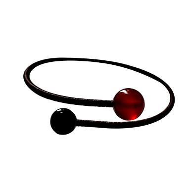 Herre Dame Manchetarmbånd minimalistisk stil Håndlavet Agat Smykker Til Fest Daglig Afslappet