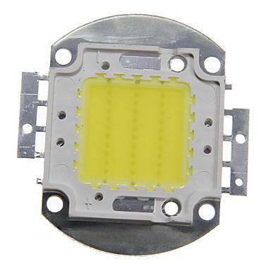 billige Elpærer-zdm 1pc diy 30w 2800-3200lm varm hvit kald hvit naturlig hvit 3000-6500k lys integrert ledermodul (dc33-35v 0.8a) gate lampe for å projisere lett gull tråd sveising av kobber brakett