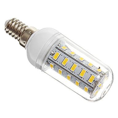 4W E14 LED corn žárovky T 36 SMD 5730 360 lm Teplá bílá AC 220-240 V