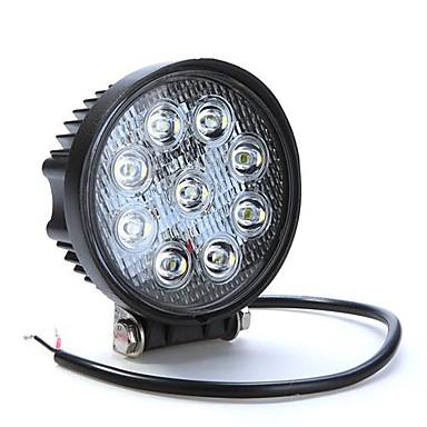 LORCOO Auto Leuchtbirnen 27W LED High Performance 430lm 9 LED Arbeitsscheinwerfer